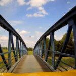 Die schmalste Autobrücke Deutschlands - mit Video