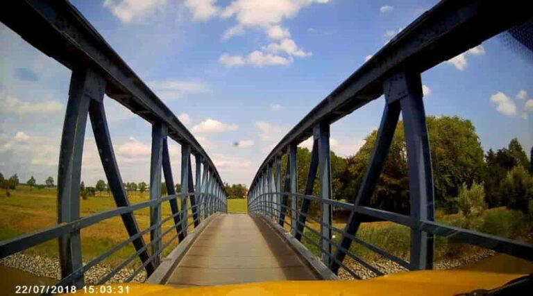 Die schmalste Autobrücke Deutschlands – mit Video
